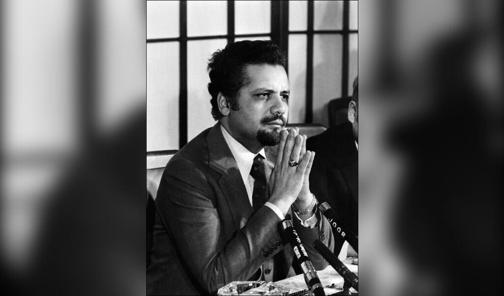Ahmed Zaki Yamani  (beeld afp)