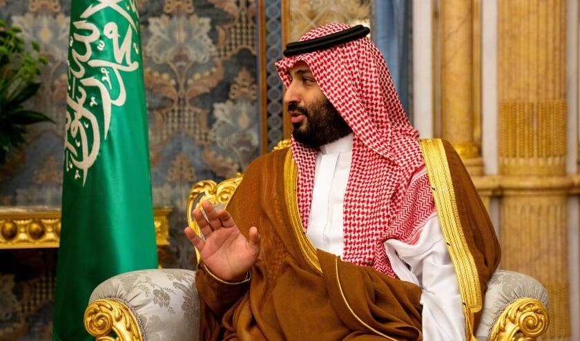Mohammad Bin Salman  (beeld epa / Ron Przysucha)