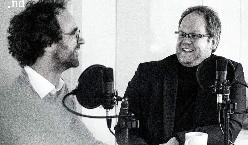 Daniël Gillissen en Dick Schinkelshoek  (beeld nd)