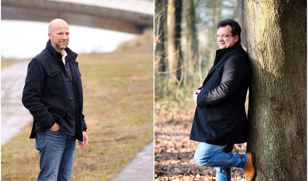 Tjeerd de Groot (D66) en Jaco Geurts (CDA)  (beeld Dick Vos)