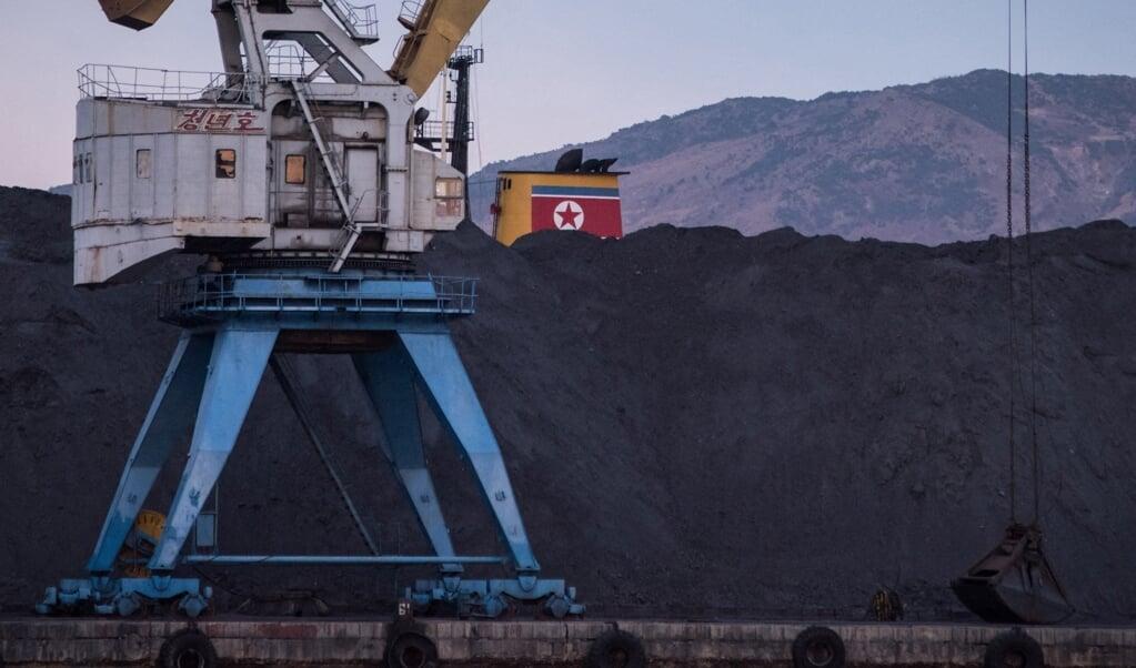 Gevangenen werden naar grote kolen-, magnesiet-, zink- en loodmijnen gebracht in de provincies Noord- en Zuid-Hamgyeong.   (beeld afp / Ed Jones)
