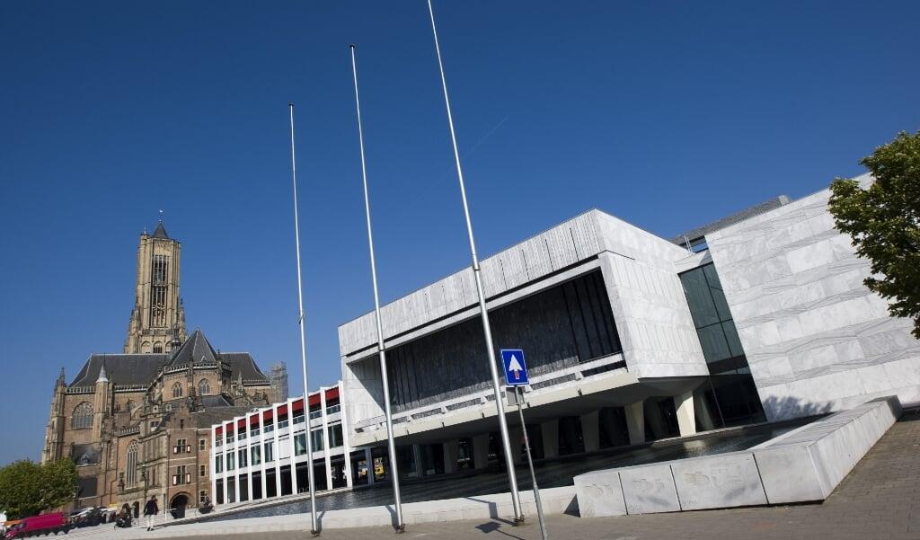 Stadhuis van Arnhem.   (beeld anp / Lex van Lieshout)