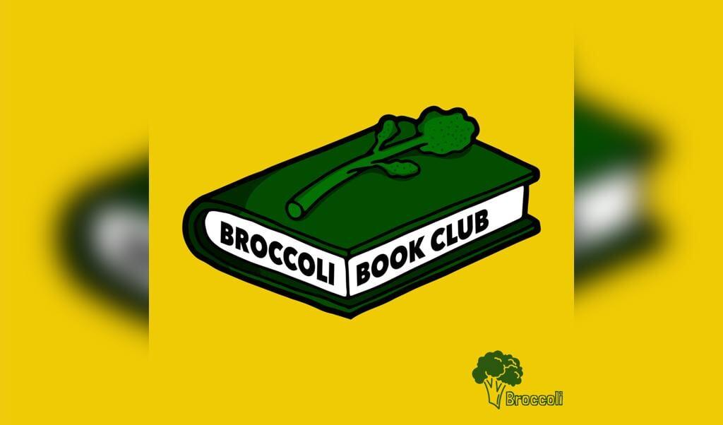 Logo van de broccoli book club.  (beeld nd)