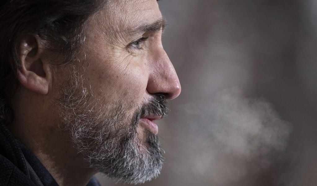 Justin Trudeau  (beeld afp / Lars Hagberg)