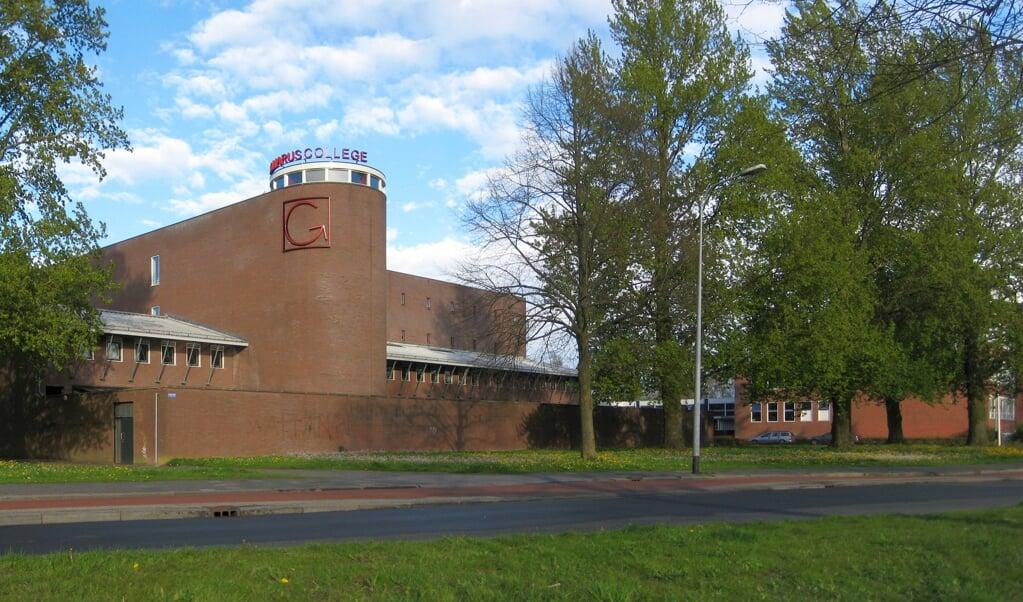 Het Gomarus College in Groningen, onderdeel van de Stichting Gereformeerde Scholengroep.  (beeld wikimedia)