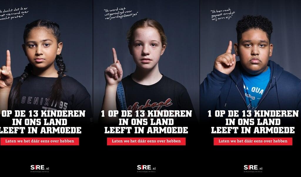De SIRE-campagne tegen kinderarmoede.  (beeld sire)
