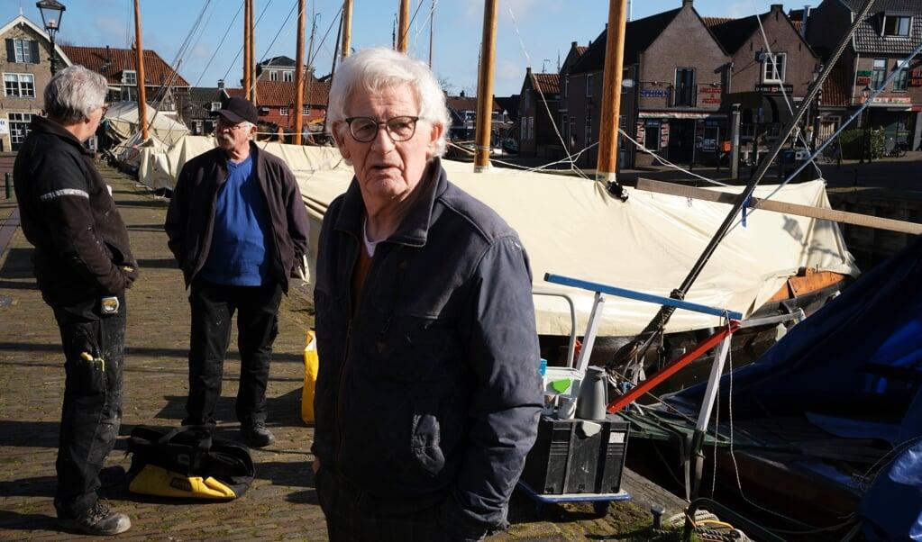 Jacobus Ruijzendaal uit Bunschoten-Spakenburg vindt het jammer dat christelijke partijen bij de Kamerverkiezingen minder stemmen kregen.  (beeld Dick Vos)