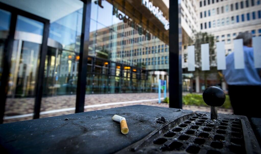 Het aantal rokers daalt.  (beeld anp / Jerry Lampen)