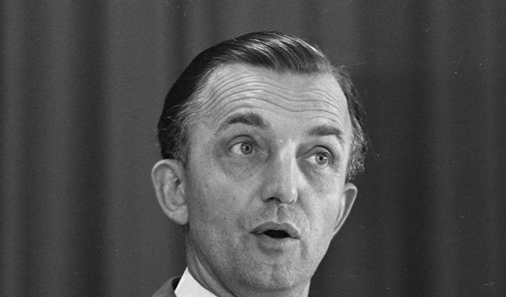 Klaas Runia, hoofdredacteur van 1972 tot 1996.  (beeld nd)