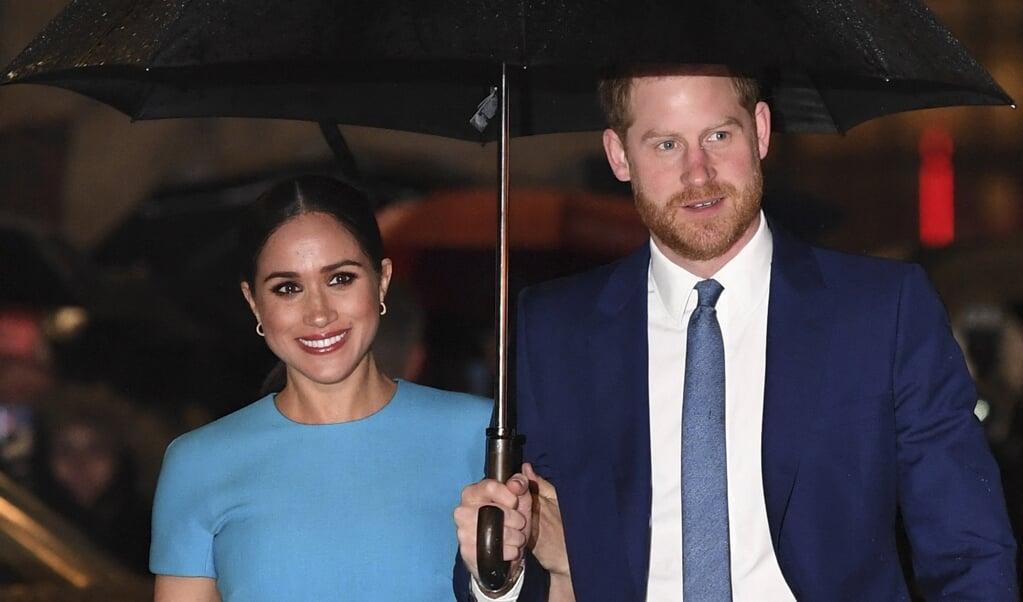 Zondag wordt het interview van Winfrey met Meghan Markle en prins Harry uitgezonden.  (DANIEL LEAL-OLIVAS / AFP)