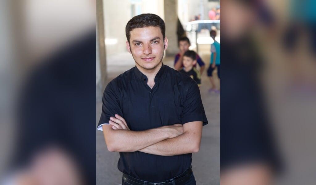 De Chaldeeuws-katholieke priester Martin Banni uit Bagdad.  (beeld Open Doors)