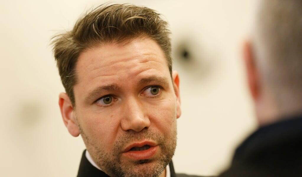 Advocaat Tim Bueters na de uitspraak.  (beeld anp / Bas Czerwinski)