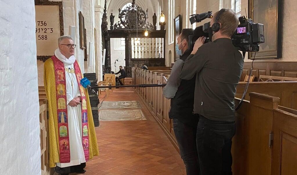 Bisschop Peter Birch  (beeld Facebook / Helsingør Stift)
