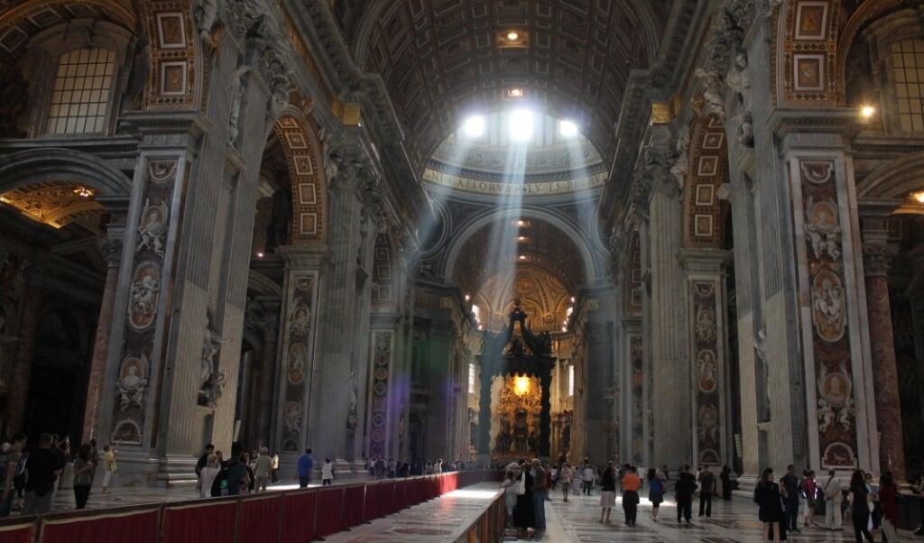 De Sint-Pietersbasiliek in Rome.  (beeld Cathopic)