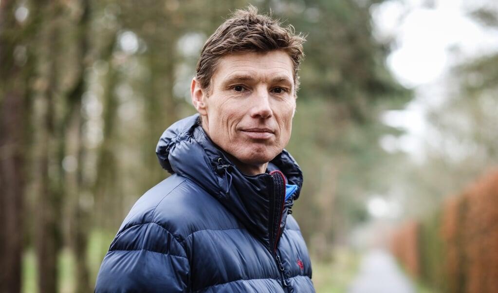 Bas van de Goor:  'Aan balvaardigheid moest ik hard werken, spronghoogte heb ik ook moeten ontwikkelen.'  (beeld Maarten Boersema)