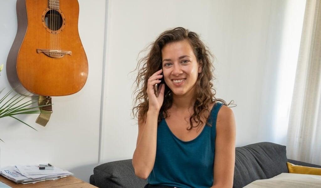 Saisha Partiman is de oprichter van het 'Bel-me-wel-register'.  (beeld Richard Mouw)