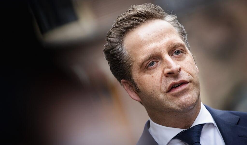 Hugo de Jonge, demissionair minister van Volksgezondheid, laat de reactie op de evaluatie van de Embryowet over aan een nieuw kabinet.  (beeld anp / sem van der wal)
