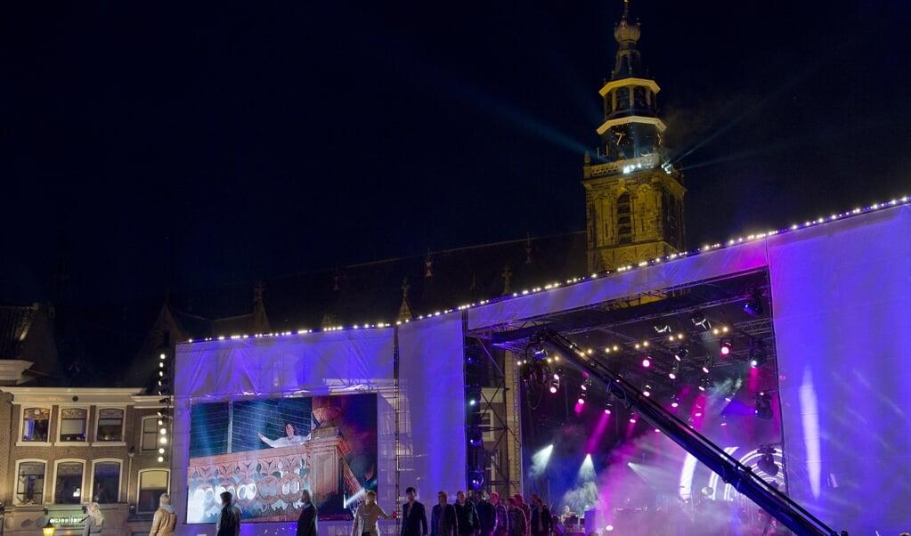 The Passion in Gouda.  (beeld anp / Marcel Antonisse)