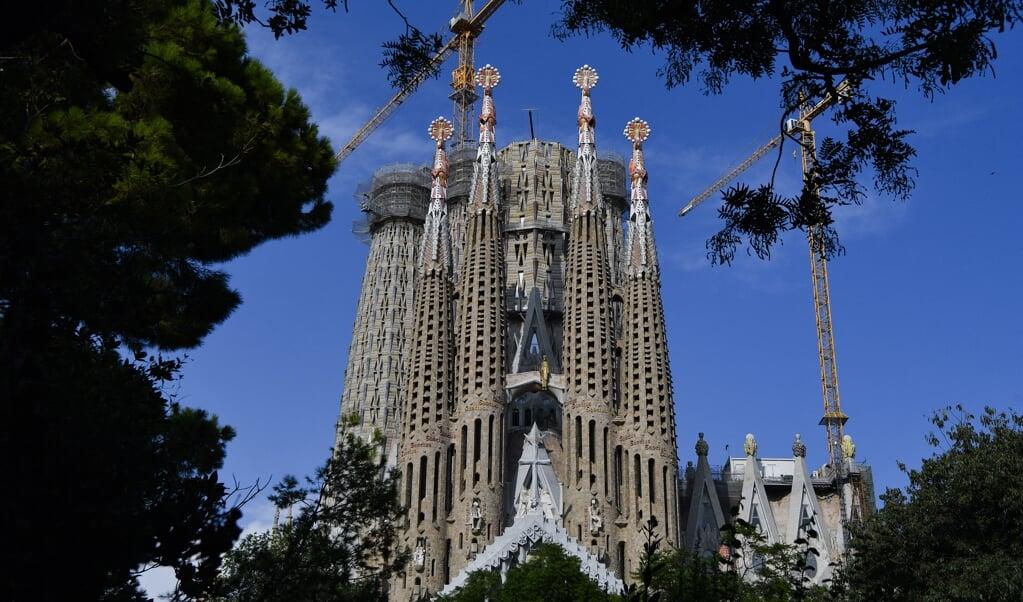 De basiliek van de Sagrada Familia in Barcelona.  (beeld afp / Pau Barrena)