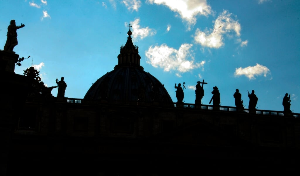 De Sint-Pieter in Rome.  (beeld Cathopic)