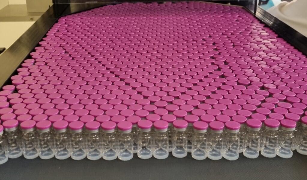 Pfizer zet wel meer om dankzij het coronavaccin, maar verliest door de lockdown tegelijkertijd net zo veel omzet van andere medicijnen en vaccins, zoals cholesterolverlager Lipitor en het bekende Viagra.   (beeld afp)