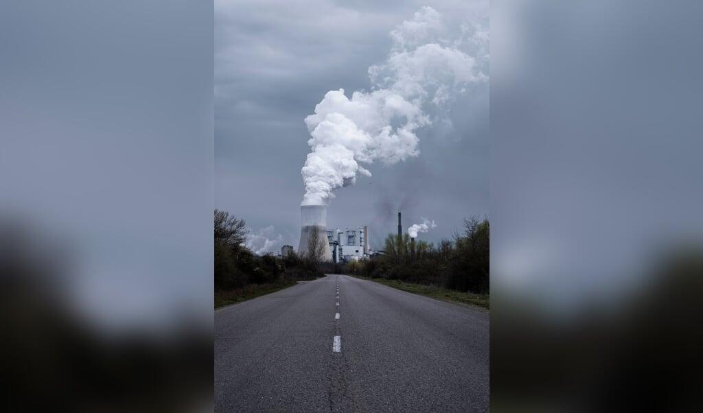 Energiecentrale bij het mijnbedrijf.  (beeld Daniël Rosenthal)