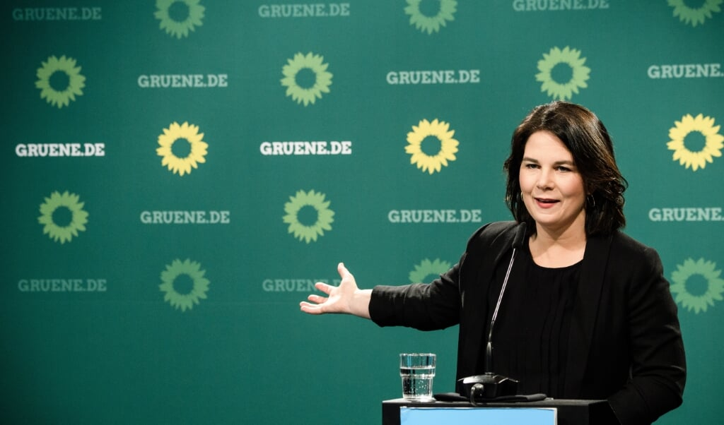 Annalena Baerbock  (beeld epa / Clemens Bilan)