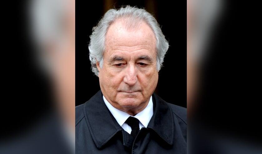 Bernard Madoff tijdens de rechtszaak in 2009.  (beeld epa / Justin Lane)