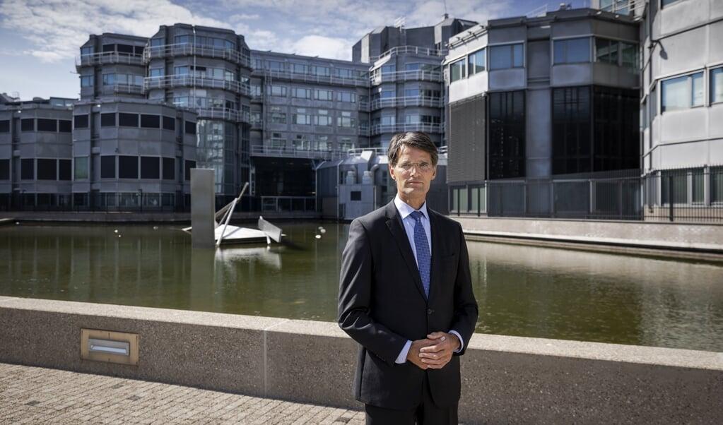 Erik Akerboom, directeur-generaal van de AIVD.  (beeld anp / Robin van Lonkhuijsen)