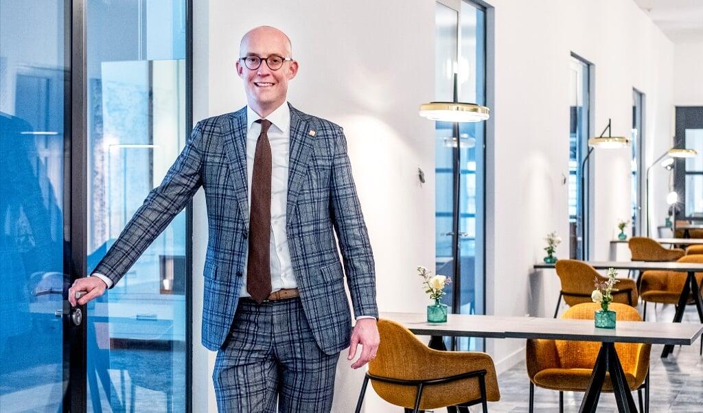 Erik-Jan Ginjaar, algemeen directeur Postillion-hotels  (beeld Raymond Rutting)