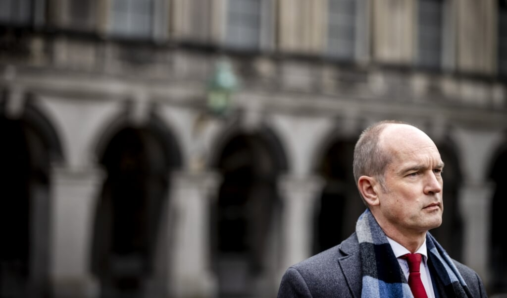 Christen-Unie-leider Gert-Jan Segers  (beeld anp / Remko de Waal)