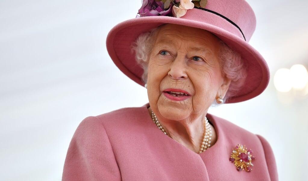 Queen Elizabeth  (beeld hollandse hoogte / sipa press)