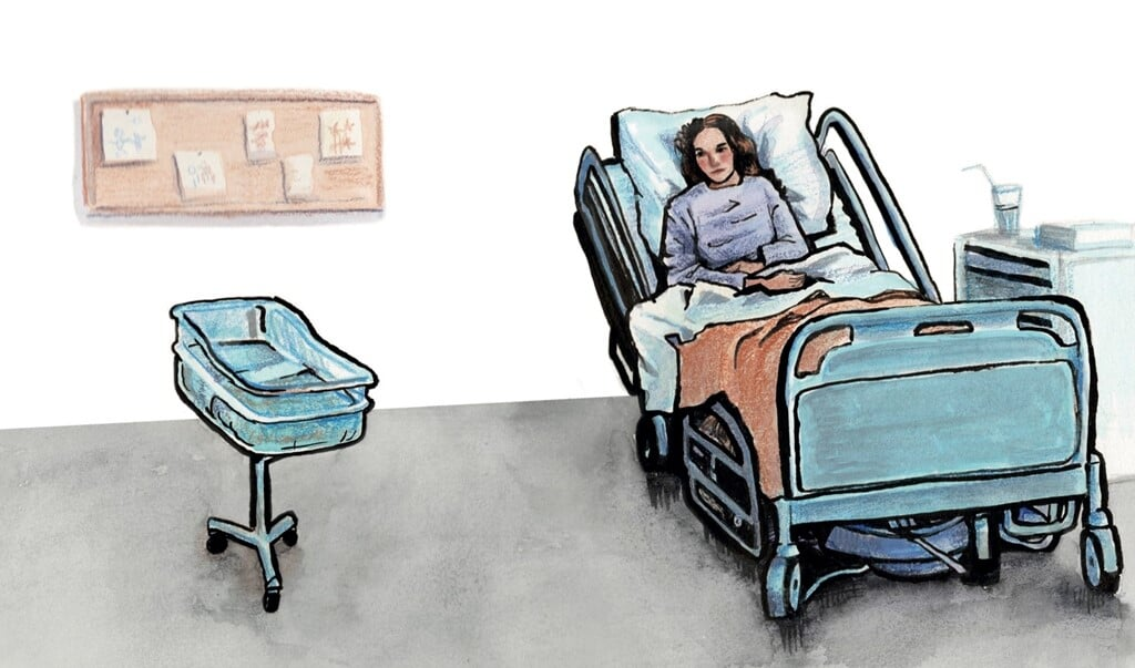 Bevallen in coronatijd  (beeld Heina Dokter)