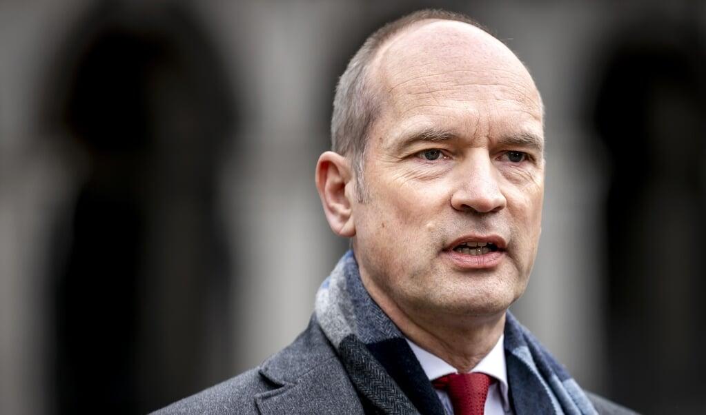 De reden waarom Segers zijn afwijzing van een vierde kabinet-Rutte publiek maakte, is dat hij de motie van afkeuring – in het debat over de mislukte verkenning – niet inhoudsloos wilde laten zijn.   (beeld anp / Remko de Waal)