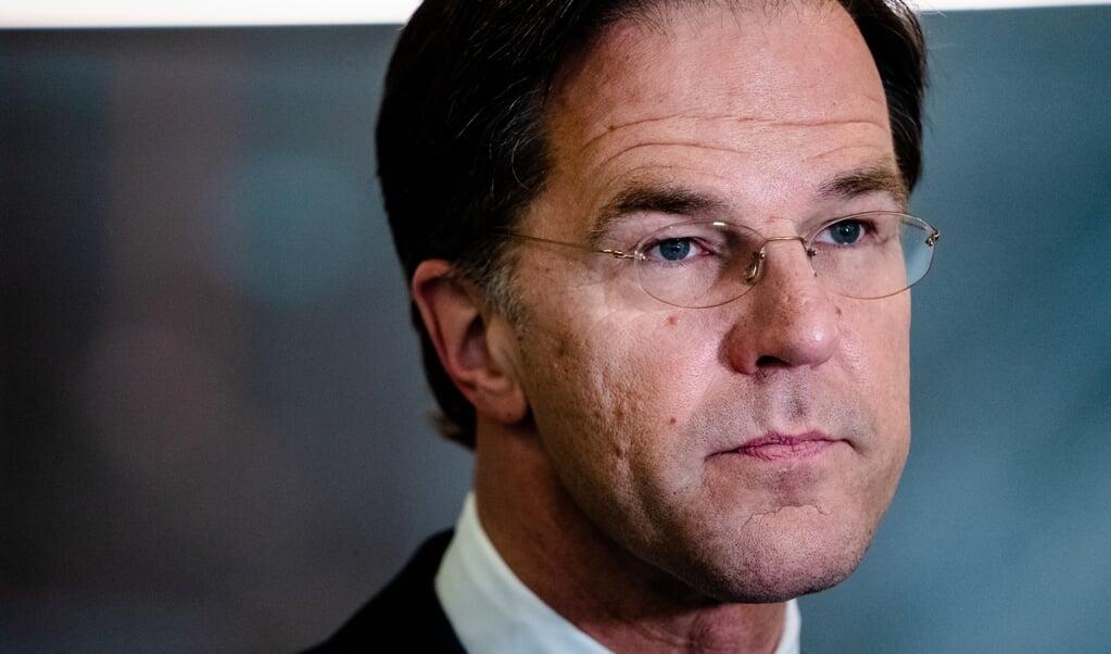 VVD-leider Mark Rutte  (beeld anp / Bart Maat)