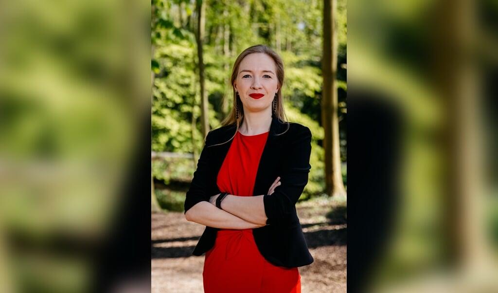 Nicki Pouw zit sinds maart in de Tweede Kamer voor de partij JA21.  (beeld Leonard Walpot)
