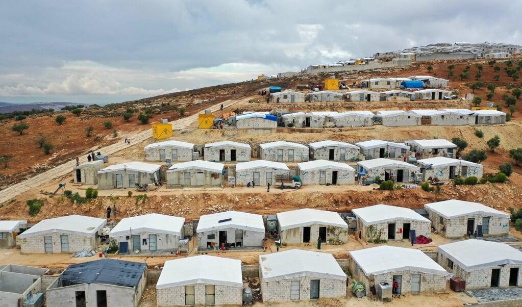 Een kamp met vluchtelingen uit Syrië en Irak.  (beeld afp / Omar haj Kadour )