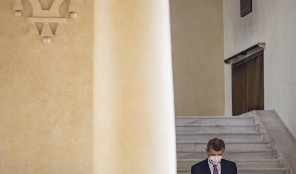 Minister-president Andrej Babis  (beeld epa / Martin Divisek)
