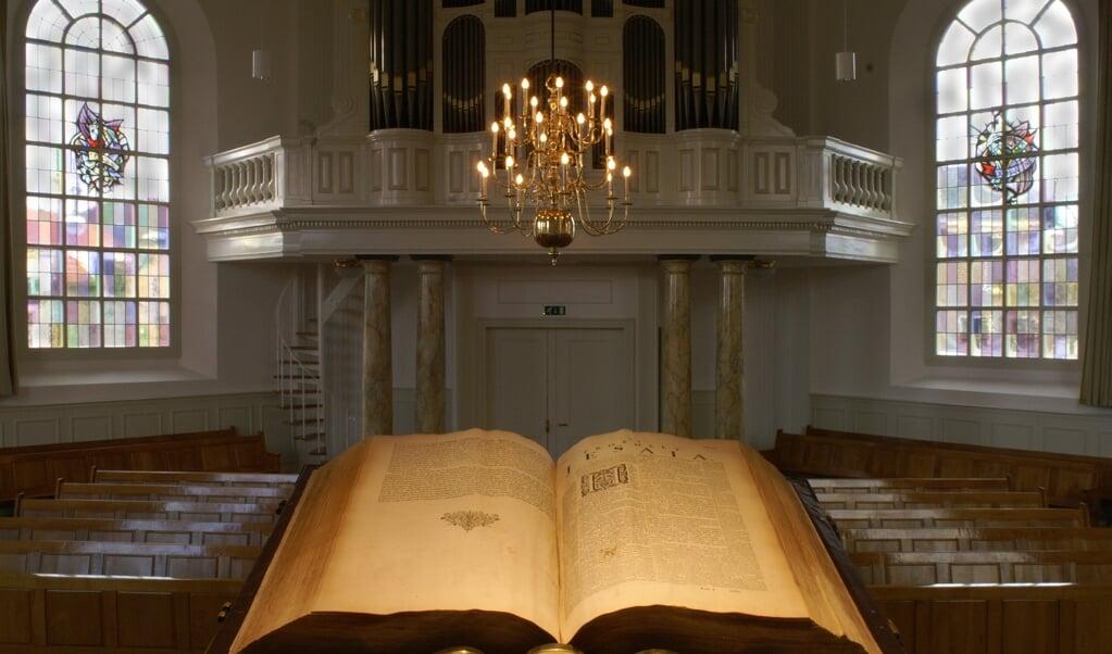 Theologen en leken worden uitgedaagd een preek te maken over weerbarstige teksten.  (beeld istock)