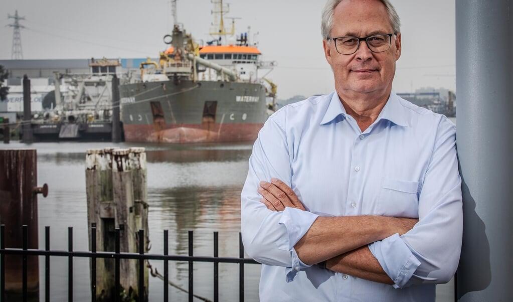 Berdowski: 'In berichtgeving leek het schip na een dag vlot getrokken. Dat soort nonsens probeer ik tegen te gaan.'   (beeld Rias Immink)