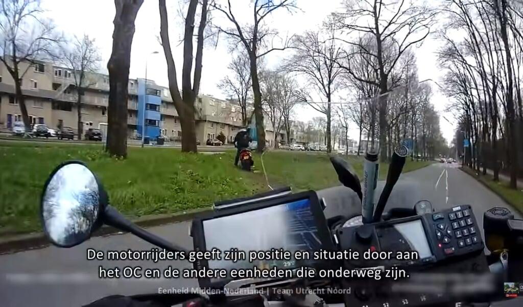 beeld politievlogger Jan-Willem