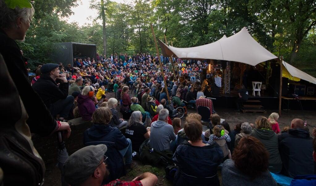 Het Graceland Festival vindt dit jaar niet plaats op de Paasheuvel in Vierhouten, maar op scoutinglandgoed Zeewolde.  (beeld Pim de Weerd)