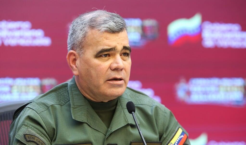 Generaal Vladimir Padrino  (beeld afp)
