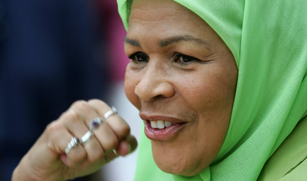 amina wadud: 'De cultuur in Indonesië is erg gender-inclusief.'  (beeld afp / Lluis Gene)
