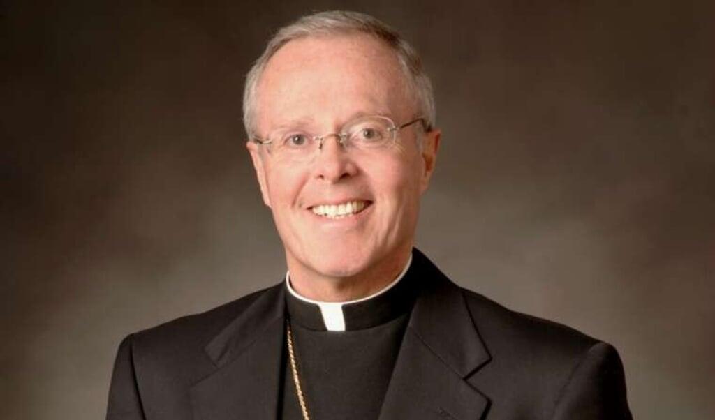 Bisschop Michael Hoeppner.  (beeld Bisdom Crookston / Twitter)