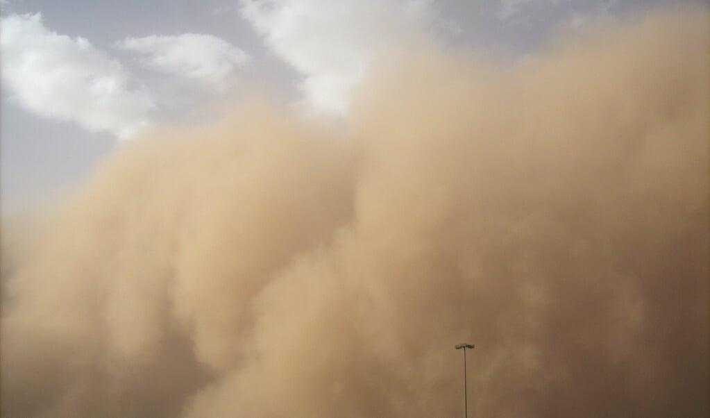 Stofstorm  (beeld universiteit van leeds)