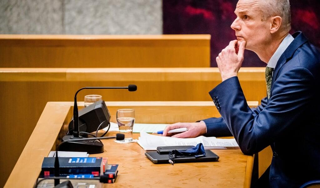 Demissionair Minister Stef Blok van Buitenlandse Zaken.  (beeld anp / Bart Maat)