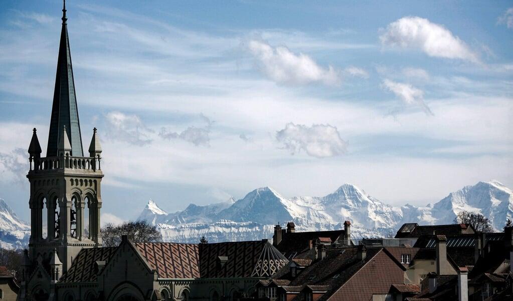 Christenen in Zwitserland oordelen heel verschillend over het homohuwelijk.   (beeld epa / Peter Klaunzer)