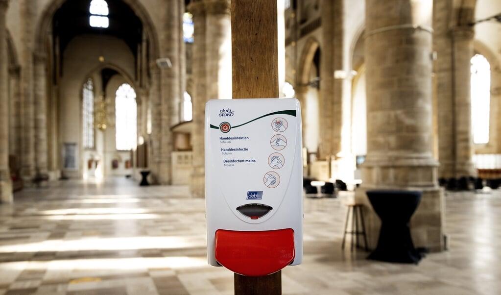 De Evangelische Kirche in Duitsland (EKD) is niet van plan haar deuren te sluiten.   (beeld anp / Koen van Weel)