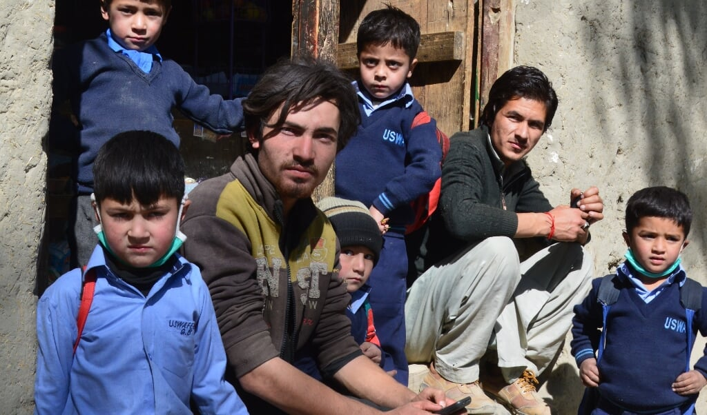 In Pakistan is 60 procent van de bevolking jonger dan 26 jaar.  (beeld Wilma van der Maten)